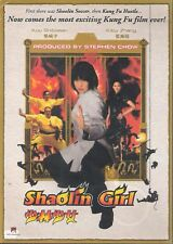SHAOLIN GIRL From the Creators of Kung Fu Hustle and Kung Fu Soccer Stephen Chow
