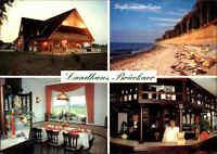 NIENHAGEN Landhaus Brückner, Pension Restaurant, Hotel Mehrbild-AK 4 Ansichten