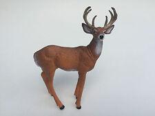 BRAND NEW Large Hard plastic animal figure Male Deer (MALDEE)