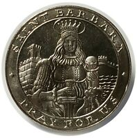 50 PESO SANTA BARBARA PRAY FOR US MEXICO CLAD COIN FROSTY DEVICES MIRROR FIELDS