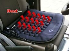 Zone Tech Car Vehicle Heated Seat Cushion Hot Cover 12v Heater Warmer Pad Black