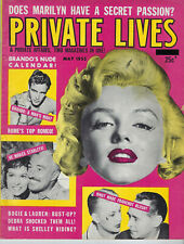 New listing MARILYN MONROE ON COVER PRIVATE LIFE, MOVIE MAGAZINE, MAY 1955