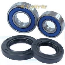 Front Wheel Ball Bearing and Seals Kit Fits YAMAHA RAPTOR 660R YFM660R 2001-2005