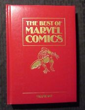1987 THE BEST OF MARVEL COMICS Volume One HC VF+ 8.5 Spider-Man