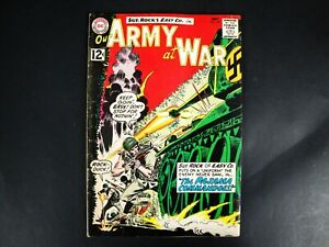 Our Army at War #122 September 1962 Comic Book, The Pajama Commandoes!