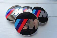 BMW M Sport Nabendeckel Felgendeckel 68mm 4 Stück  e60 e90 M3 M5
