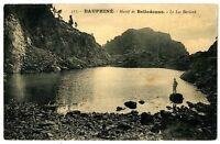 CPA 38 Isère Massif de Belledonne Le Lac Bernard animé