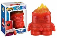 "EXCLUSIVE DISNEY PIXAR INSIDE OUT - CRYSTAL ANGER 3.75"" VINYL FIGURE POP FUNKO"