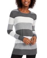 Maison Jules Striped Sweater, Size Large