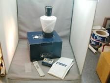 FAB Lampe Berger Paris Fragrance Lamp Matte Embossed White Porcelain In Box