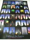 Poster Art Print LIGHTS OF THE EMPIRE State Building NY Vintage NEW VERY RARE