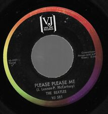 Beatles Please Please Me / From Me To You USA 45 W/O PS Rainbow VJ 581