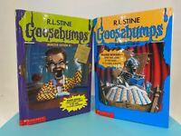 Vintage 90s R.L STINE - Goosebumps - Monster Edition #1 & #2 - 3 in 1 Hardcover