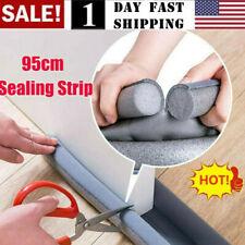 Us! 95Cm Flexible Door Bottom Sealing Strip Guard Wind Sealer Stopper Wind Dust