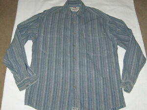 LEVI/'S Shirt Slim Fit Long Sleeve Button Front NWT $78 657790017 Gray Stripe