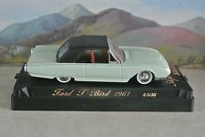 1:43 Solido  Ford T Bird 1961 4505 display model