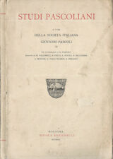 Studi Pascoliani. . 1936. .