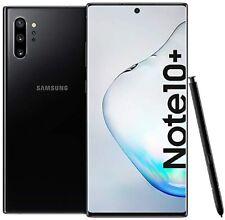 Novo Desbloqueado Samsung Galaxy 10+ Plus SM-N975U Note 256GB Preto-Mobile AT&T T