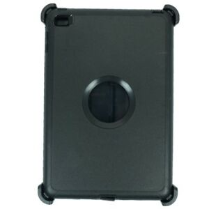 For Apple iPad Mini 5 Defender Case Triple Layer (Stand fits Otterbox) Black