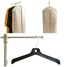 2  Expandable Fur Storage Garment Bag w/Handles & 2 Heavy Duty Fur Store Hanger