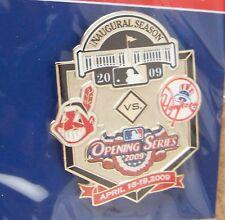 2009 Yankee Stadium Opening Series Indians NY N.Y. New York Yankees pin MLB