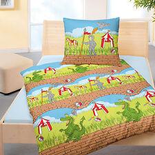 bettw schegarnituren f r kinder mit dinosaurier motiv ebay. Black Bedroom Furniture Sets. Home Design Ideas