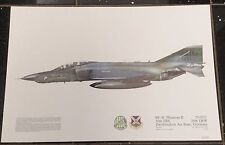 Squadron Prints RF-4C Phantom II 71-0251 Zweibrucken Air Base Germany Print 247