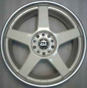 Asa W228 04W Aluminium Rim 7, 5x18 ET35 New Weds Tyre Llanta Cerchione Rim