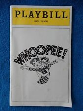 Whoopee! - ANTA Theatre Playbill - June 1979 - Charles Repole - Catherine Cox