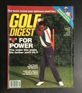 Golf Digest November 1994 Tiger Woods PGA Golf Magazine Newsstand No Label RC