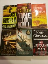 Lot of 6 John Grisham Paperbacks, See Pictures & Description.VERY Good condition