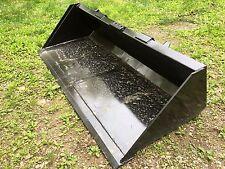 "New Heavy Duty 72"" Skid Steer Bucket for Bobcat, Case,CAT,John Deere & more - 6'"
