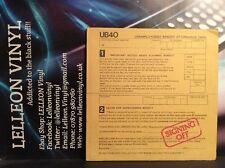"UB40 Signing Off LP Album Vinyl UB-1 GRADLP2 (inc 12""Single) Reggae"