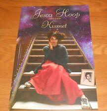 Jesca Hoop Kismet Poster Original 2-Sided Promo 17x11 RARE