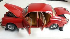 Jaguar Mk2 Carmen Red Model Icons 1/18 Scale Diecast - 2010001