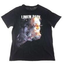 Linkin Park T Shirt Tee Mens SIZE L Graphic Print Black The District Concert T
