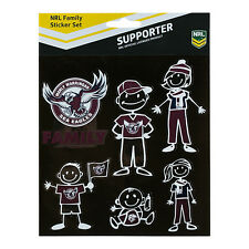 Manly Sea Eagles NRL Car Sticker Stickers Sheet **NRL OFFICIAL MERCHANDISE**
