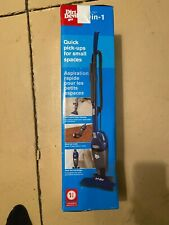 Dirt Devil Tri-Lite Bagless Stick Handheld Hand Vacuum Cleaner Lightweight Blue
