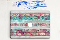 Wood Macbook 12 Air 11 Case Floral Laptop Cover Macbook Pro 15 Retina 13 Skin