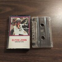 GREATEST HITS BY ELTON JOHN (CASSETTE, POLYDOR) ROCK   GREATEST HITS