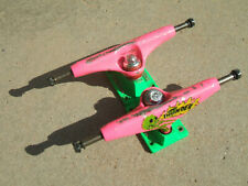 Used Thunder Trucks 145 8� mid Pink/Green Team Baseplate Gerwer Snot Rockets