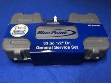 "Blue Point 33 Piece 1/2"" dr General Service Socket & Ratchet Set BLPGSS1233 NEW"