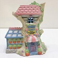 Easter Tree House Flower Shop Porcelain Building