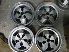 BMW E3 E9 2500 2800 3000 E12 518 520 528 4 CERCHI BWA WHEELS 14x6,1/2 OLD STOCK
