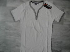 "Tee shirt ""Giorgio"" blanc manches courtes homme - Taille M"