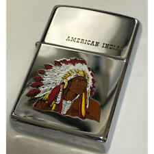 Zippo Indian Native American Vintage Unused item Imported from Japan