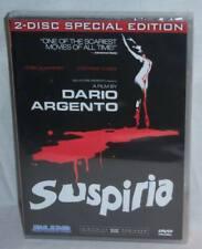 NEW RARE OOP DARIO ARGENTO SUSPIRIA 2 DISC SPECIAL EDITION HORROR MOVIE DVD 1977