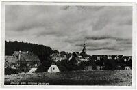 Ansichtskarte - Belzig von Westen gesehen - Ortsansicht mit Häusern - s/w
