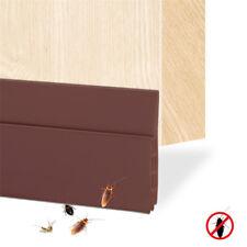 House Door Draft Stopper Guard Draft Blocker Seal Soundproof Under Bottom Strip.