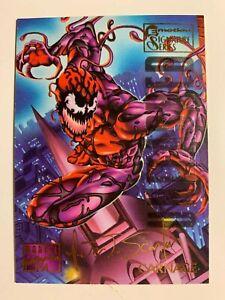 1995 Marvel Masterpieces Carnage #21 Signature Series